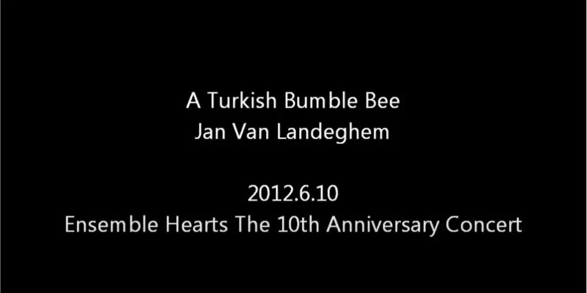 A Turkish Bumble Bee/ Jan Van Landeghem
